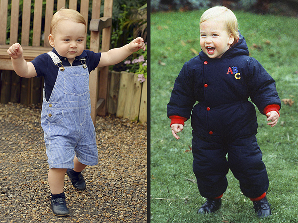 Just Like Dad! Prince George Proves Good Looks Run in the Royal Family