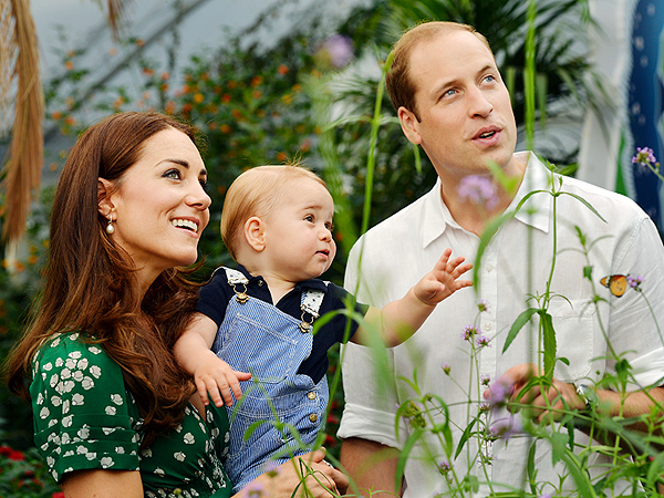 Prince George Turns 1: New Official Photos of Prince William and Kate's Son