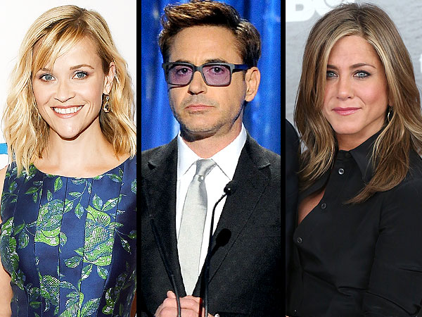 Jennifer Aniston, Robert Downey Jr., Reese Witherspoon Headline the Toronto International Film Festival