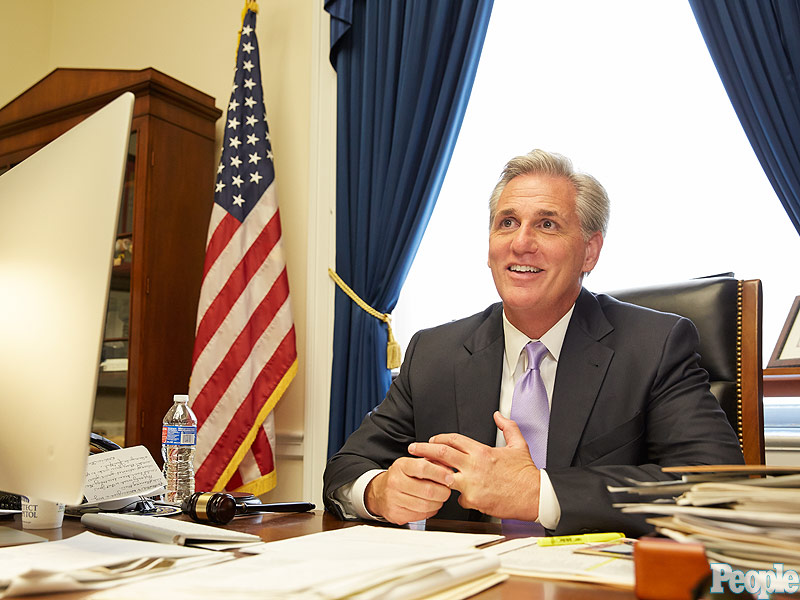 Meet Rep. Kevin McCarthy, the House's New Republican Majority Leader