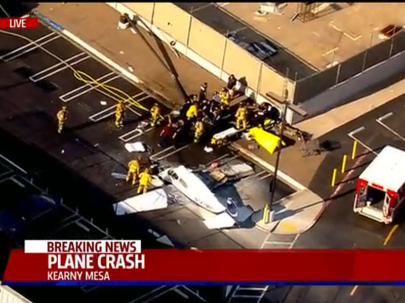 Fatal Plane Crash in San Diego Costco Parking Lot