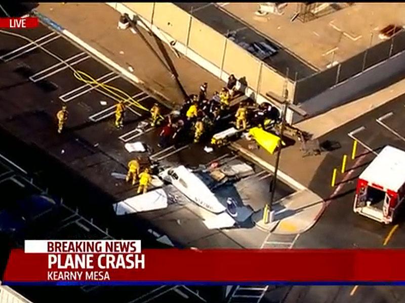 Fatal Plane Crash in San Diego Costco Parking Lot
