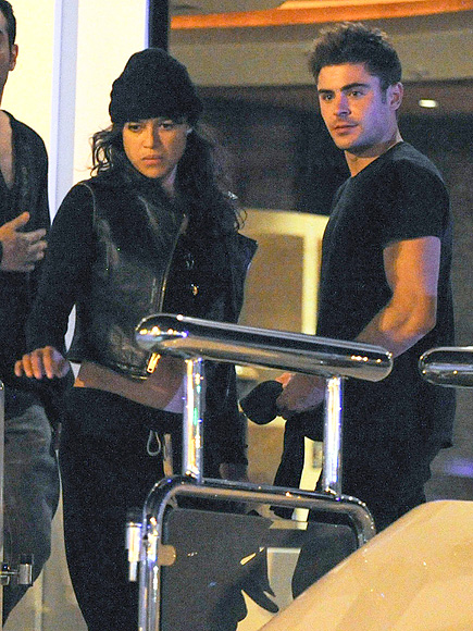 Zac Efron and Michelle Rodriguez Are Together Again in Ibiza – with Their Clothes On
