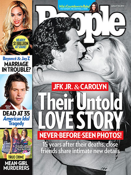 John F. Kennedy Jr. and Carolyn Bessette: The Way They Were