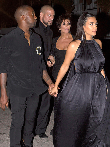 Kim Kardashian, Kanye West Attend Riccardo Tisci's Birthday Party in Ibiza