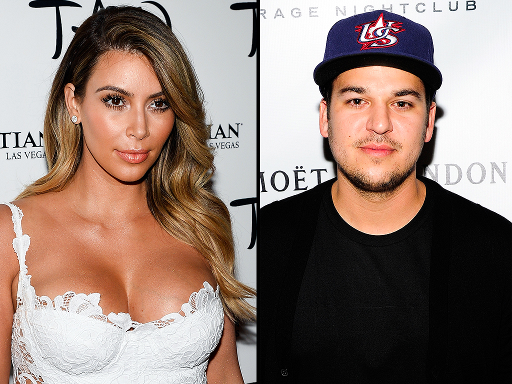 Kim Kardashian: Rob Told Me He Was Skipping Wedding Via Email