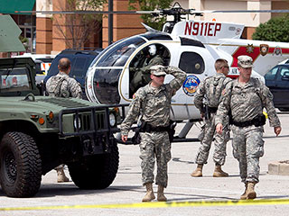 Ferguson Streets Quieter As National Guard Leaves