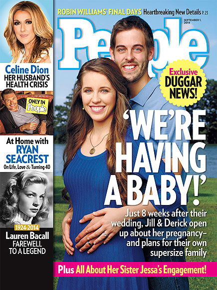 Jill Duggar Pregnant - 19 Kids and Counting Star