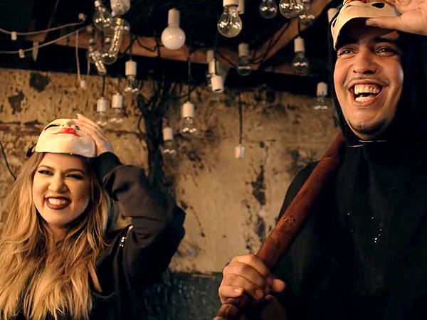 Khloe Kardashian Poses in French Montana Video