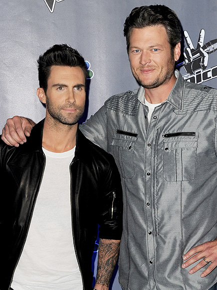 Adam Levine Loves the Word 'Wife,' but Blake Shelton Isn't Ready for Kids