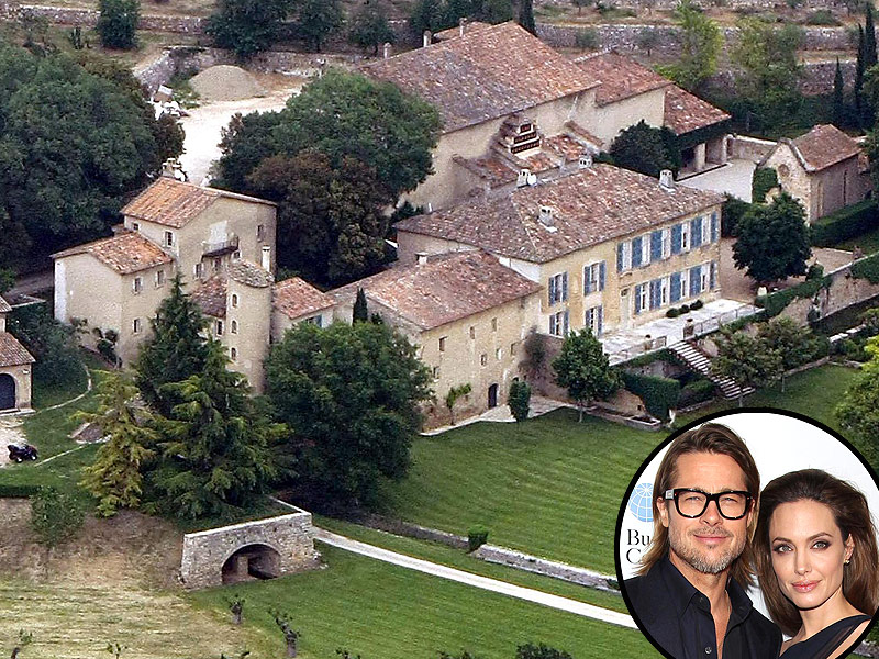 All About Brad Pitt and Angelina Jolie's Chateau Miraval