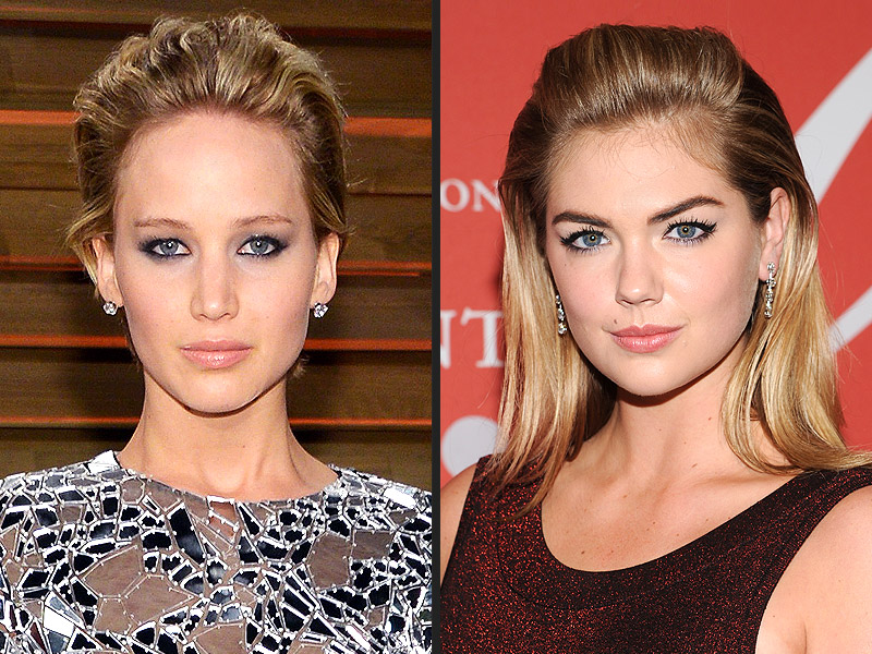 Jennifer Lawrence and Kate Upton Leaked Nude Photos to Be Exhibited