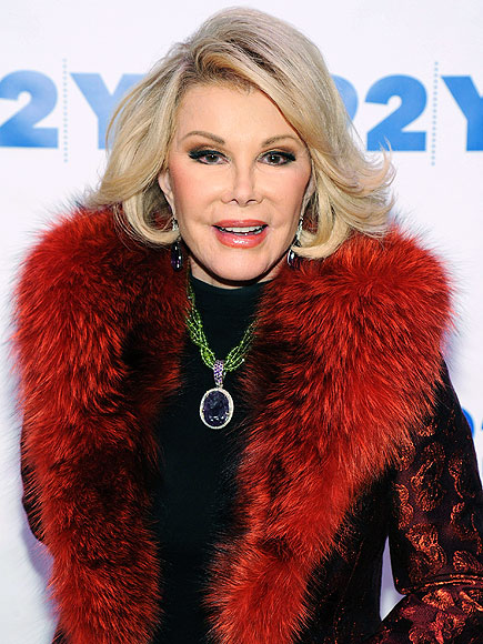Joan Rivers Is 'Resting Comfortably' at Hospital with Family, Daughter Melissa Says