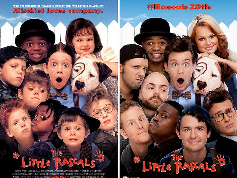 little rascals cast reunite 20 years later recreate 1990s