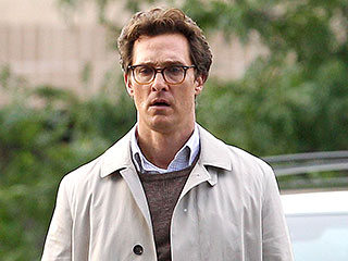 Matthew McConaughey Goes Back to School on Set of Sea of Trees