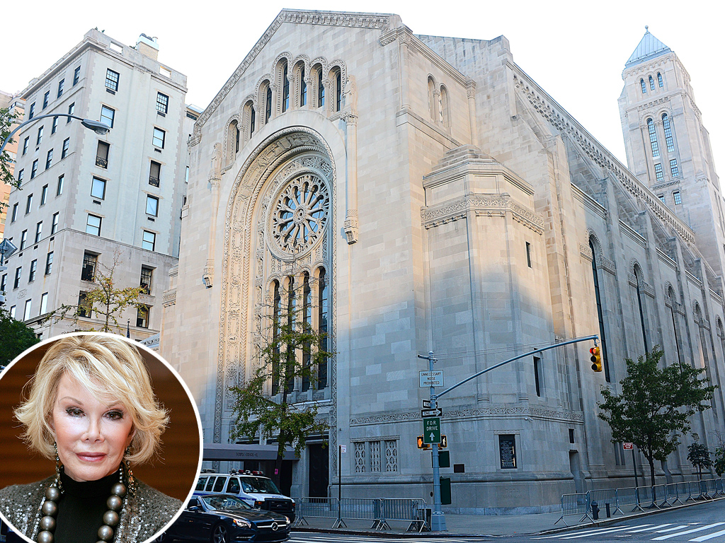 Joan Rivers Private Funeral in N.Y.C.