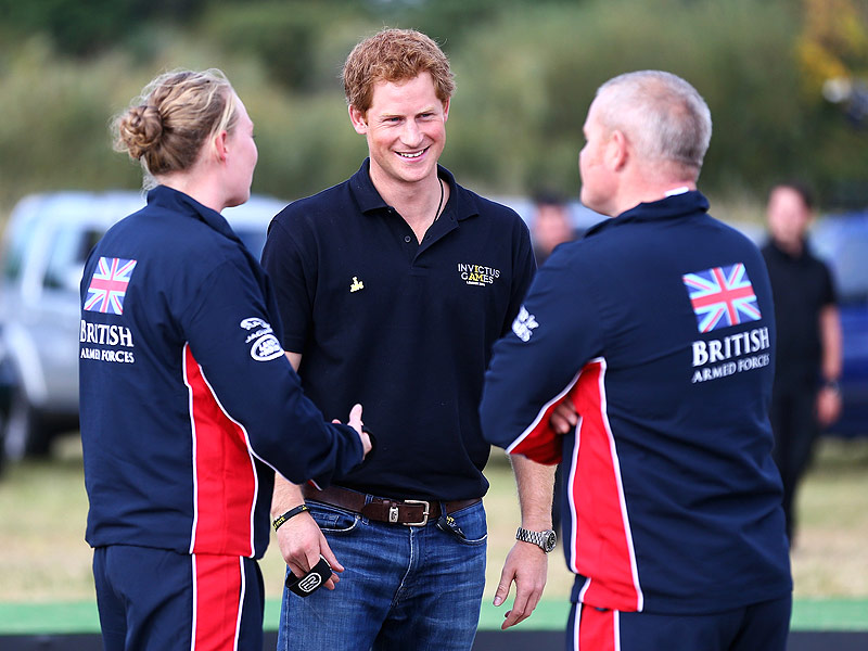 Prince Harry Opens Invictus Games with Emotional Salute to Injured Veterans