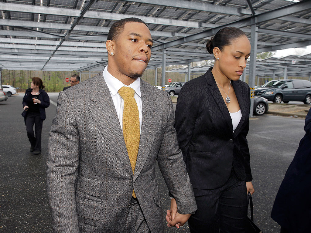 NFL Wives Defend Janay Palmer Rice's Decision to Stand by Husband