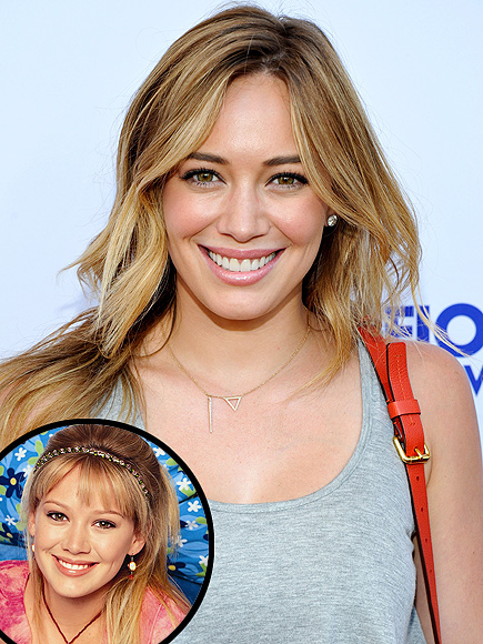 Hilary Duff Says 'Why Not' to a 'Lizzie McGuire' Reunion