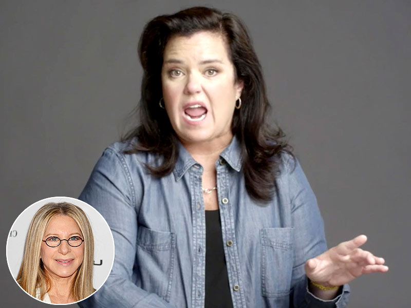 Rosie O'Donnell Channels Barbra Streisand in American Masters Documentary