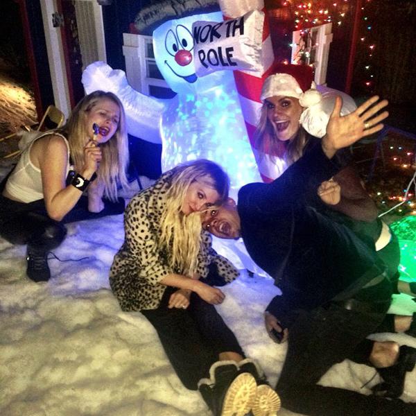 Ashlee Simpson Celebrates 30th Birthday with Holiday-Themed Bash