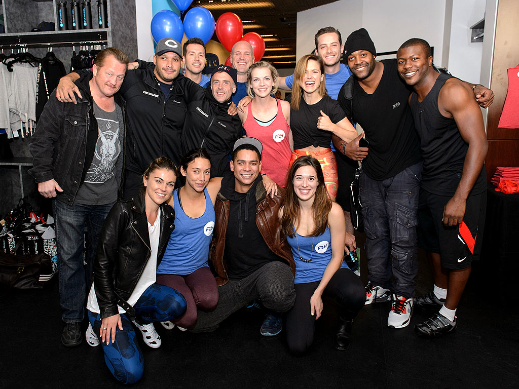 The Casts of Chicago Fire & Chicago P.D. Spin for Charity