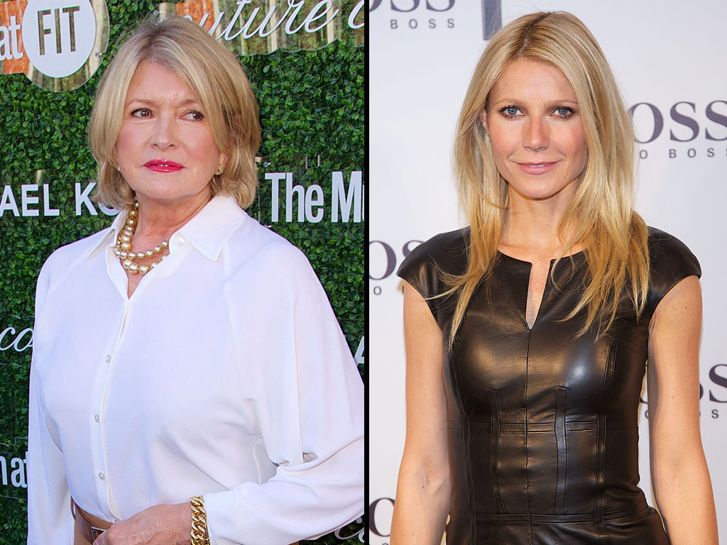 Martha Stewart on Gwyneth Paltrow's GOOP Ambitions: I Hope She's Authentic
