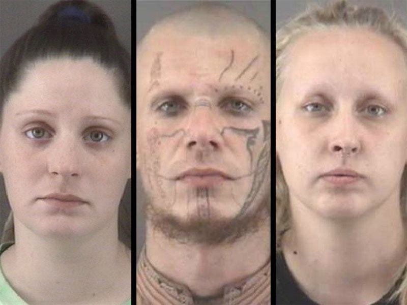 Three Suspects Arrested After Skeletal Remains Found in North Carolina Backyard