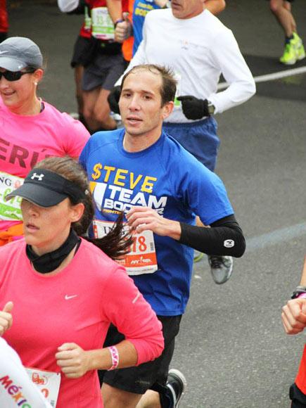 Steve Bell Runs Marathons to Raise Money for Cystic Fibrosis