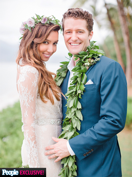 Matthew Morrison Gets Married in Hawaii