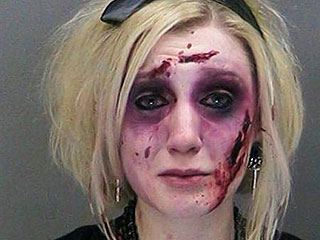Woman Dressed as a Zombie Arrested Twice in Three Hours for Drunk-Driving