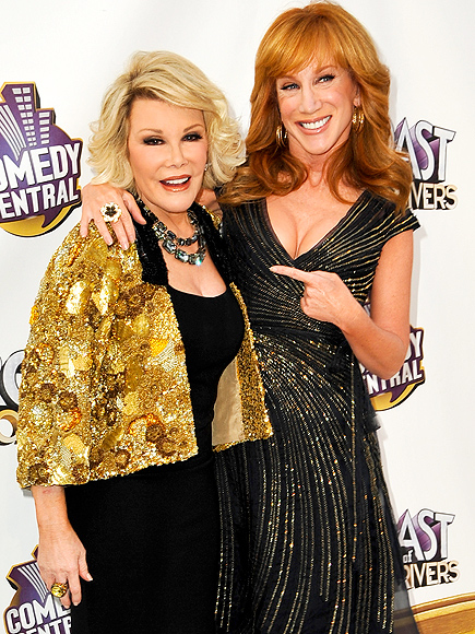 Kathy Griffin on Fashion Police: Joan Rivers and I Talked about It