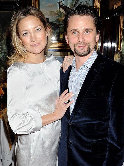 Kate Hudson Engaged to Matt Bellamy; Says He Encourages Her