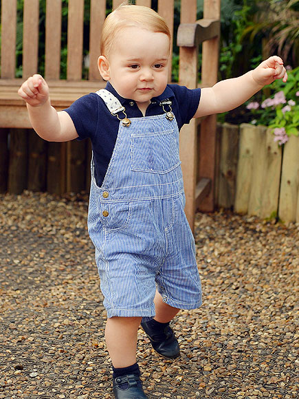 Prince George's First Birthday: New Official Photo