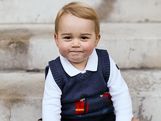 He's on the Nice List: William & Kate Take George to See Santa