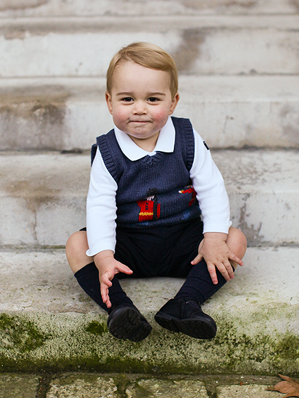 Prince George Photos: Prince William & Kate Release 3 New Images