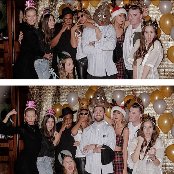 Taylor Swift Celebrates 25th Birthday with Beyonce, Jay Z, Justin Timberlake
