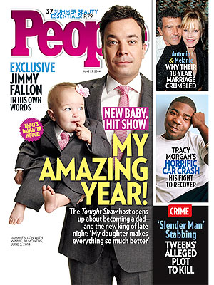 Jimmy Fallon: 'I Never Knew I Could Be This Happy'
