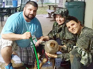 Houston-Area Family Rescues Dog with Jug on Head