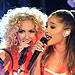 Ariana Grande Glows in the Dark with Little Big Town at the CMAs