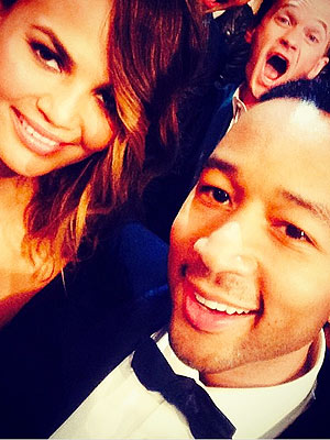 Neil Patrick Harris Photobombs John Legend & Chrissy Teigen
