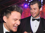 The Oscars Are Over ... Time to Party! | Channing Tatum, Chris Hemsworth