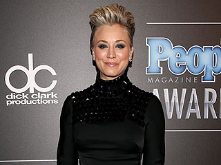 You Have to See Kaley Cuoco-Sweeting's Pompadour from All Angles