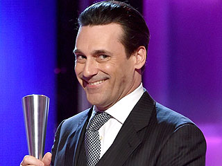 PEOPLE Magazine Awards: Jon Hamm Reveals Ingredients for a 'Don Draper' Cocktail