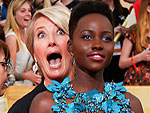 Stars Get Candid at the SAG Awards | Emma Thompson, Lupita Nyong'o