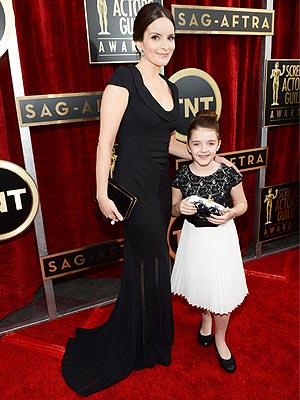 Tina Fey's Daughter Alice Is Her Mini-Me at the SAG Awards