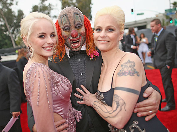 Slipknot's Shawn Crahan: See the Clown Attending the Grammys Red Carpet
