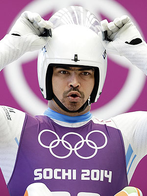 Indian luger Shiva Keshavan Crashes, Makes Incredible Recovery