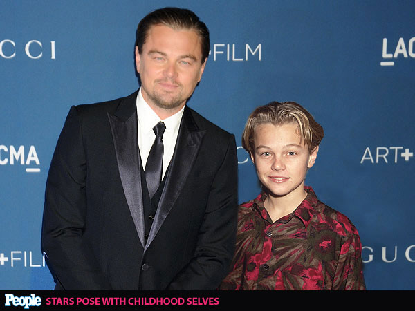 2014 Oscar Nominees: See Photos of Stars Posing With Their Younger Selves