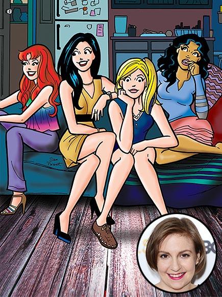 Girls' Lena Dunham Is Writing An Archie Comic Series